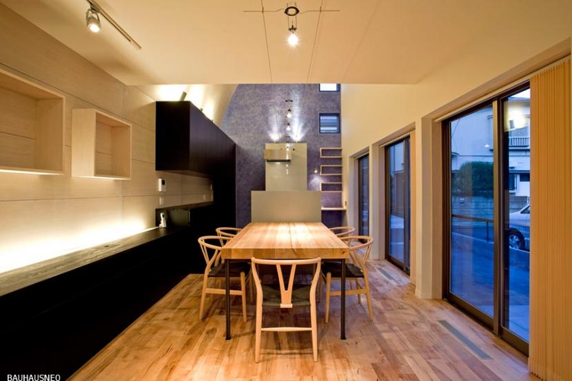 建築家:米村和夫「小川の流れる家(めだかはうす)」