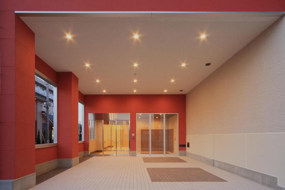 色彩のサービス付き高齢者向け住宅 (玄関・エントランス|色彩のサービス付き高齢者向け住宅|茨城県つくば市)