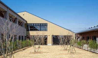 森の中の老人ホーム (外観|茨城県守谷市)