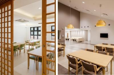 食堂|茨城県守谷市 (森の中の老人ホーム)