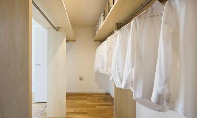 収納の家 (ファミリークローゼット|東京都足立区)