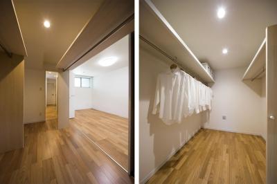 ファミリークローゼット|東京都足立区 (収納の家)