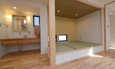 阿久比町の家 (小上がり畳スペース)
