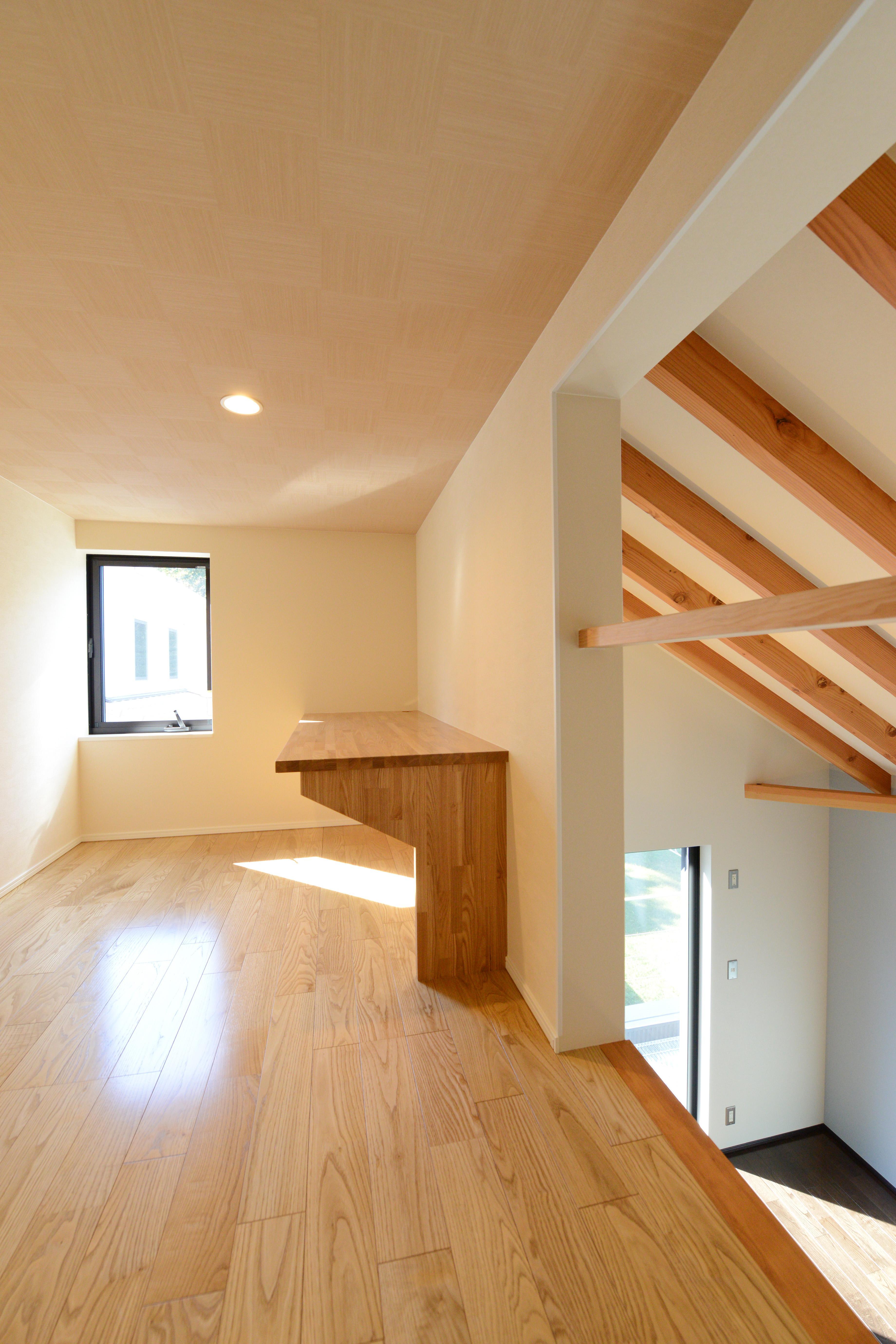 阿久比町の家の部屋 ロフト