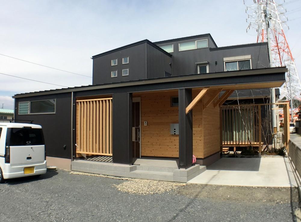 『片流れの家|シンボルツリーハウス』 (外観)