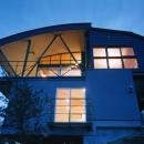 崖地に建つ熱海自然郷の家