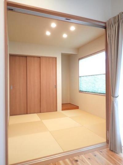 和室 (耐震等級・省エネ等級を高めた人に地球にやさしい家)