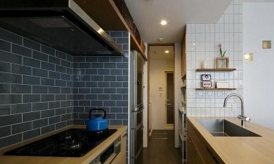 ていねいに効率的に暮らしを楽しむ (キッチン)