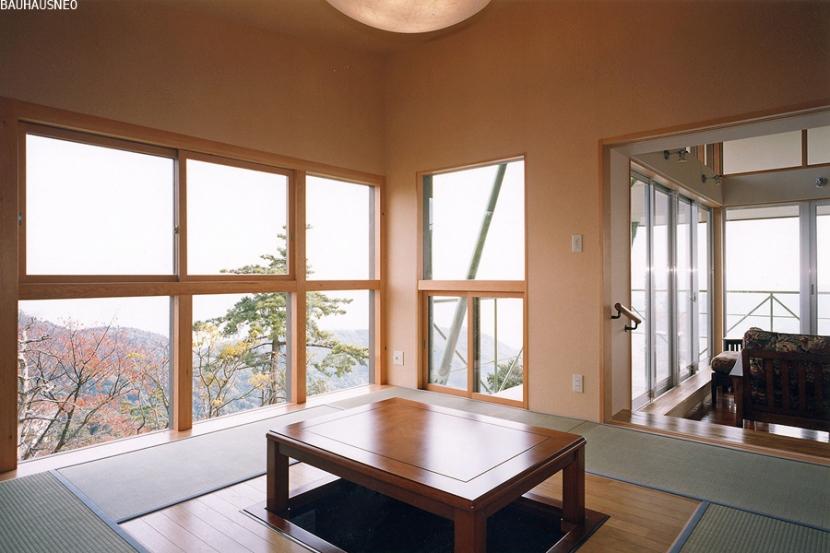 建築家:米村和夫「熱海・自然郷の家」