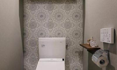 ていねいに効率的に暮らしを楽しむ (トイレ)