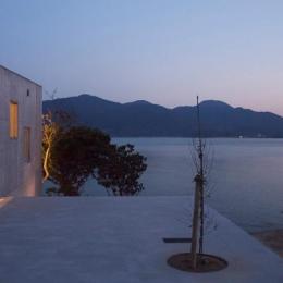志摩船越の別荘 (テラス)