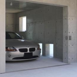 志摩船越の別荘 (駐車場)