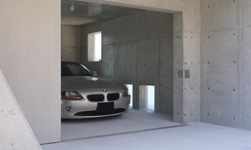 志摩船越の別荘の部屋 駐車場