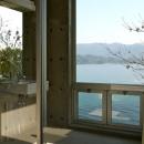 海の眺めを満喫できる浴室