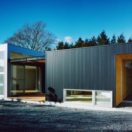 水府の住宅 (鉄骨造平屋建て)