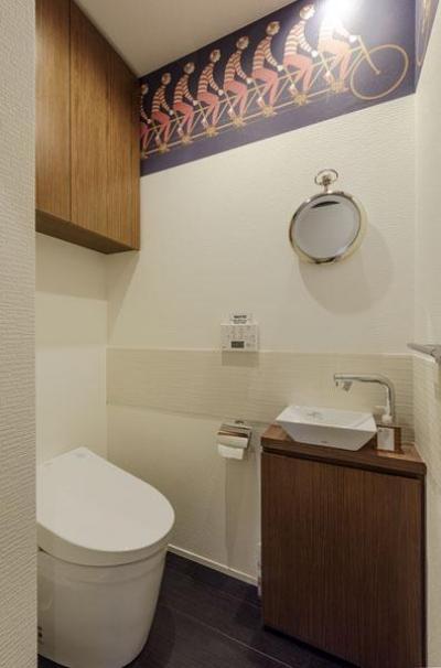 トイレ (趣味を楽しめる家に)