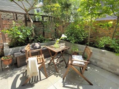 庭 (築21年の中古住宅をフルリノベーション)