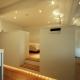 寝室、下部に間接照明 (東大島 個人邸 リノベーション)