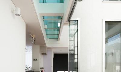 EXAMPLE-HOUSE (開放的な廊下)