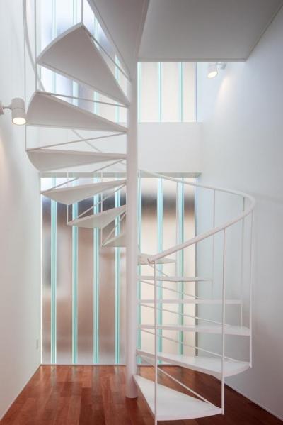 EXAMPLE-HOUSE (螺旋階段)