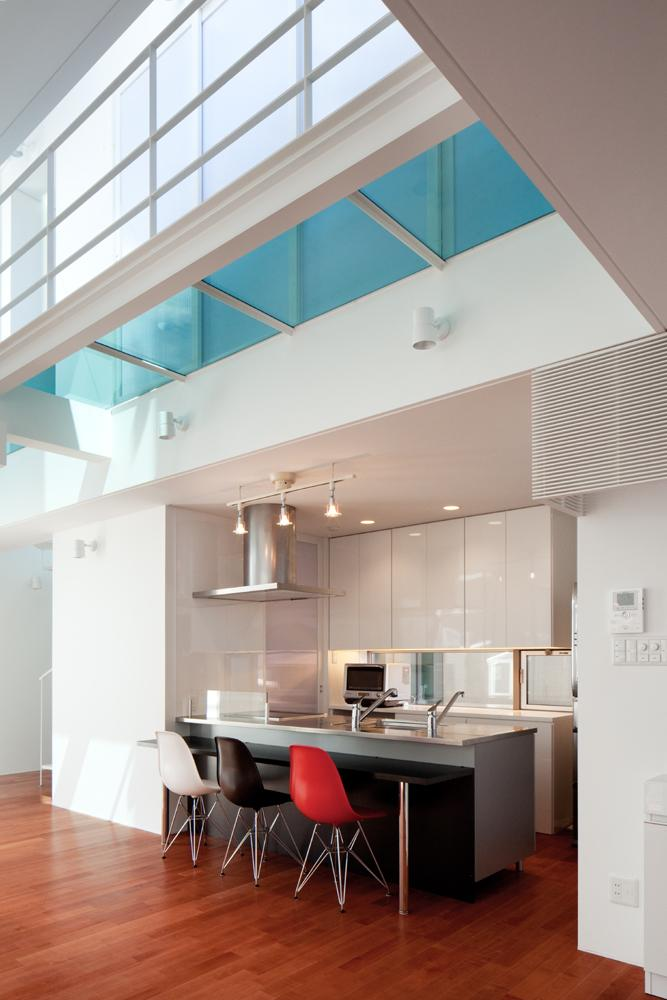 EXAMPLE-HOUSE (カウンター付きのキッチン)