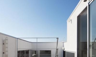 EXAMPLE-HOUSE (大空を感じるバルコニー)