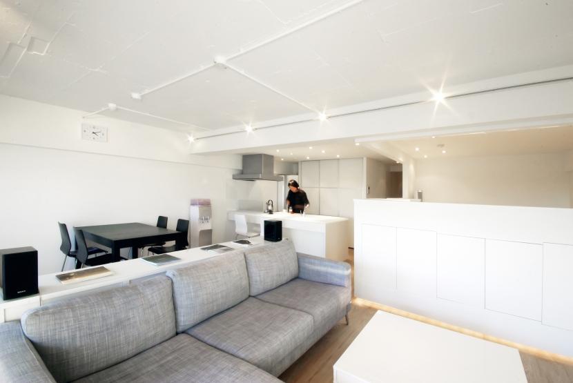 東大島 個人邸 リノベーションの部屋 リビング2