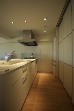 東大島 個人邸 リノベーション (キッチン)