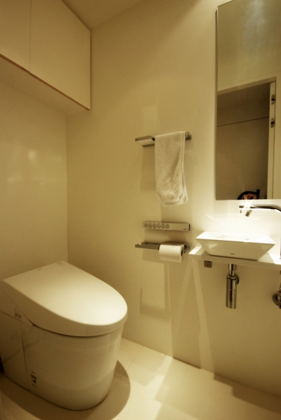 東大島 個人邸 リノベーション (トイレ)