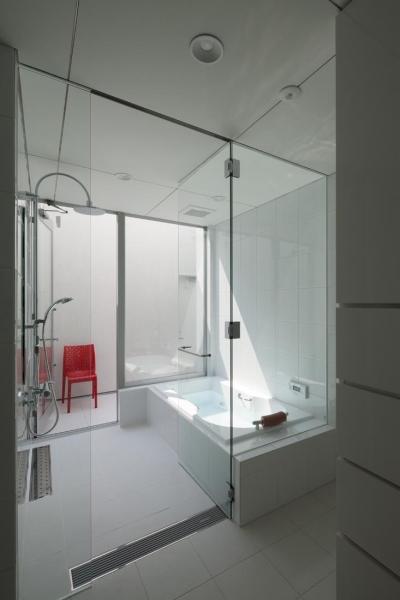 開放的なバスルーム (6COURT-HOUSE)