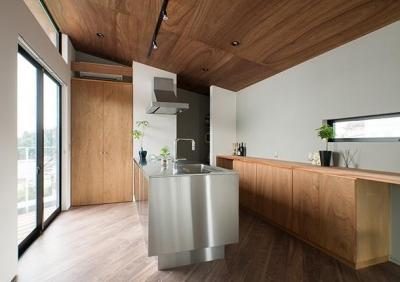 キッチン (CASE 484 | やまのいえ)