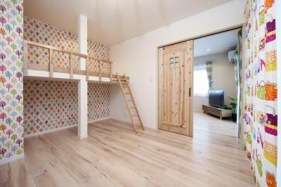 子供部屋 (嬉々として、DIYリフォーム)