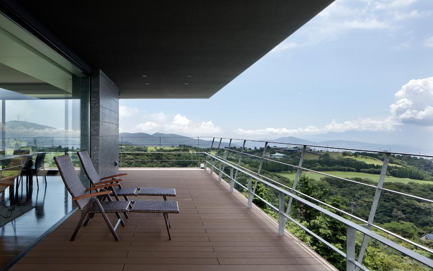 芦ノ湖の別荘の写真 雄大なパノラマビュー