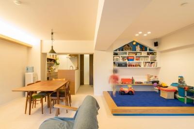 子どもの小上がりのある家 すくすくリノベーションvol.9 (子どもたちのわんぱく基地のあるリビング)