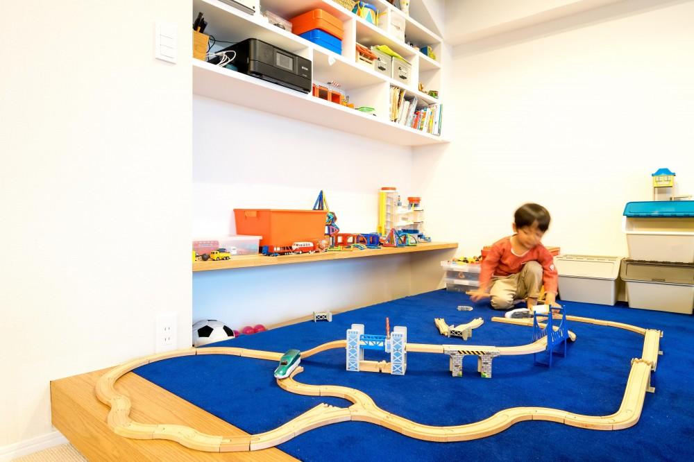 子どもの小上がりのある家 すくすくリノベーションvol.9 (どこまでもつなげよう電車のレール)