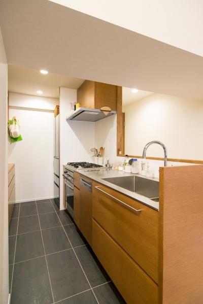 子どもの小上がりのある家 すくすくリノベーションvol.9 (シンプル動線のオーダーキッチン)