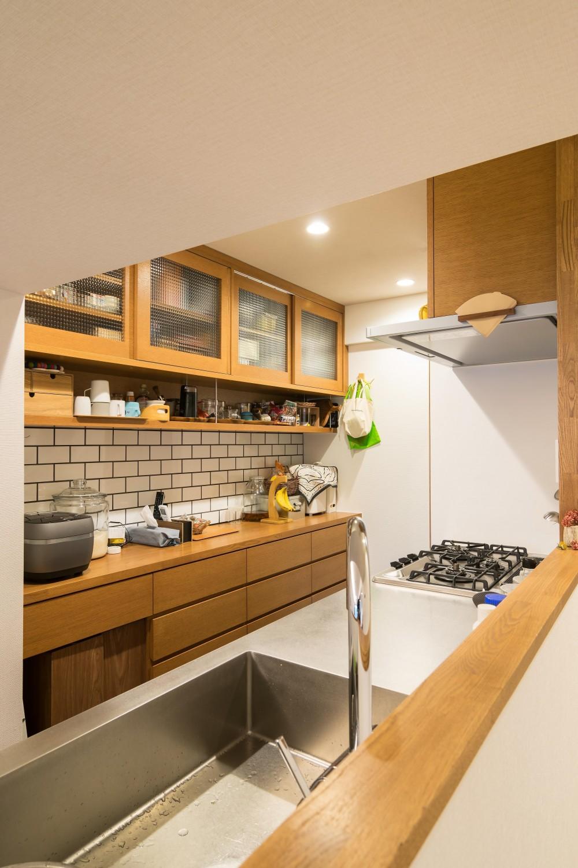 子どもの小上がりのある家 すくすくリノベーションvol.9 (工夫いっぱいのオーダーカップボード)