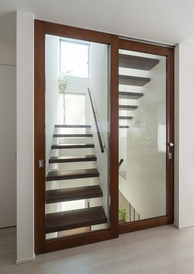 CASE 488 | 都市型コンパクト住宅 (階段)