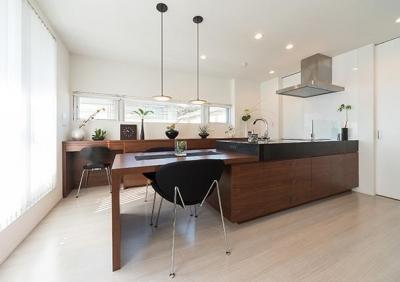 キッチン (CASE 488   都市型コンパクト住宅)