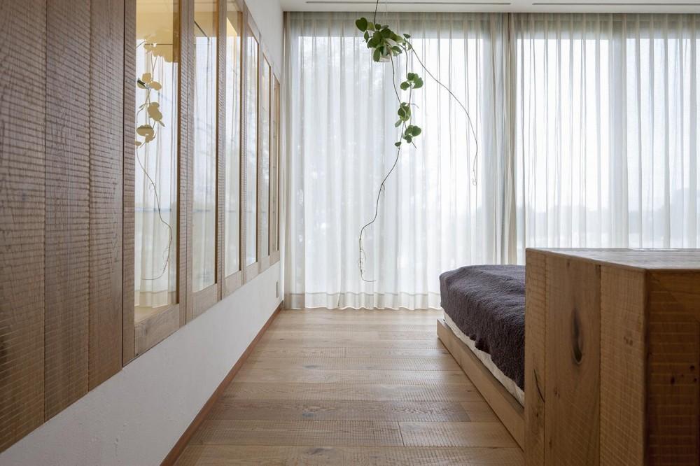 k house (寝室)