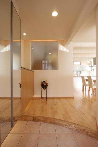 都市型住宅リフォームの必須条件 (玄関)