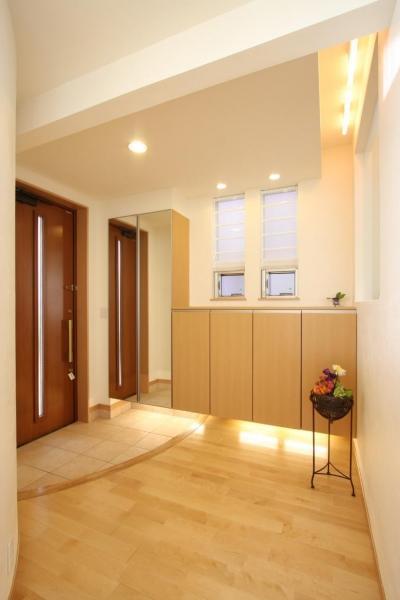 都市型住宅リフォームの必須条件 (玄関・ホール)