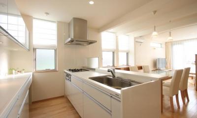 都市型住宅リフォームの必須条件 (キッチン)