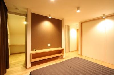 都市型住宅リフォームの必須条件 (寝室)