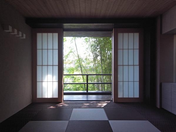 D邸の部屋 自然を感じる和室
