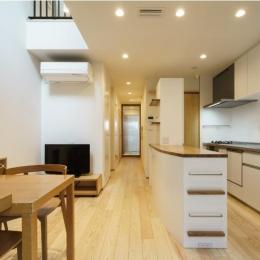 巣鴨の家-ダイニングキッチン