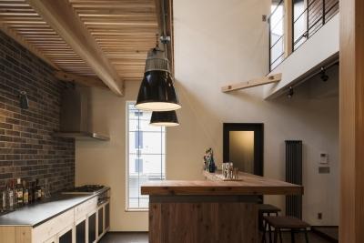 キッチン (SUGISMILE モデルハウス)