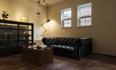 リビングルーム|SUGISMILE モデルハウス