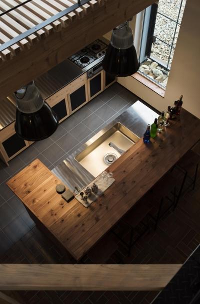 SUGISMILE モデルハウス (キッチン)