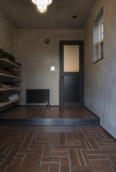 SUGISMILE モデルハウス (玄関)